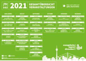 Plakat Veranstaltungen im 2. Halbjahr 2021